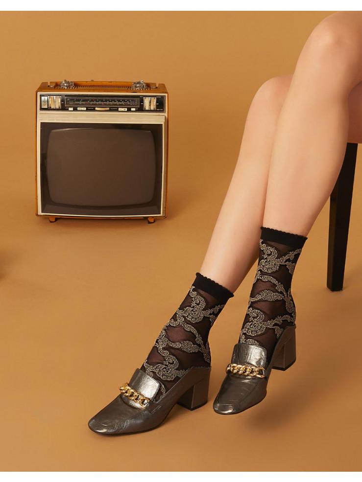 Дамски къси чорапи Pierre Mantoux SAUL CALZINO GRIGIO U.