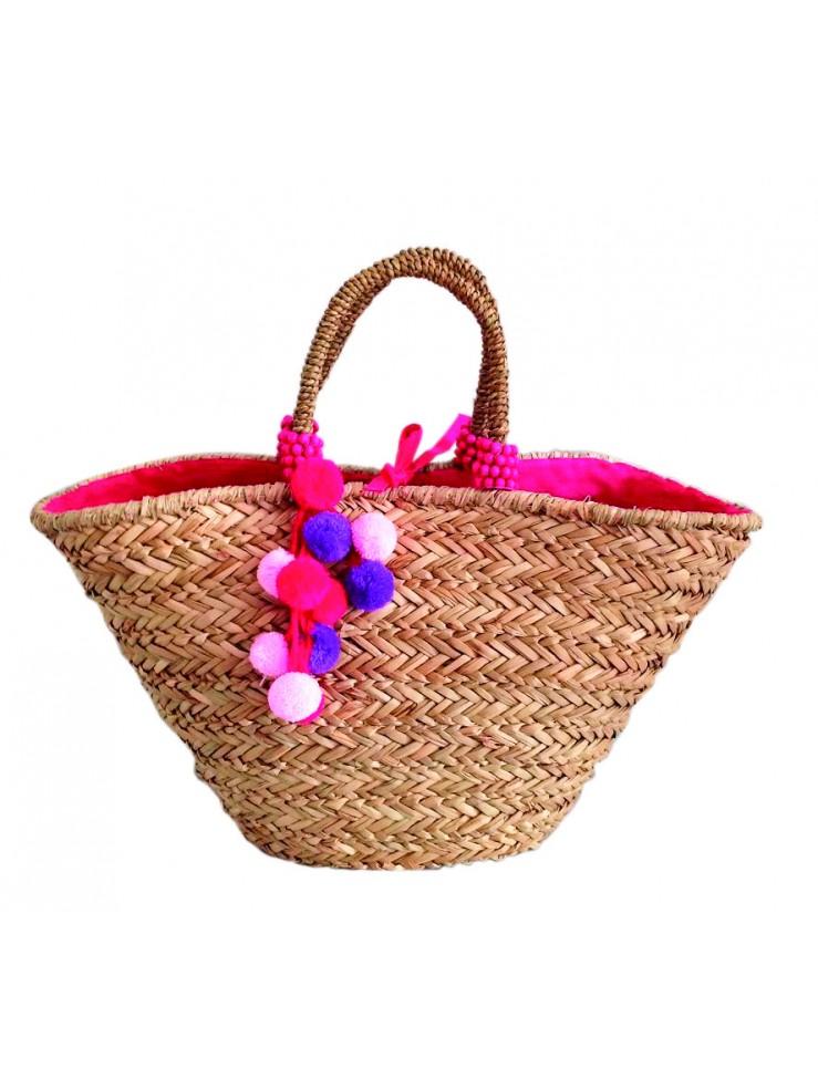 Плетена плажна чанта LE COMPTOIR DE LA PLAGE