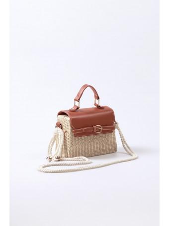 Дамска чанта CABANNI LISBON BROWN BAG