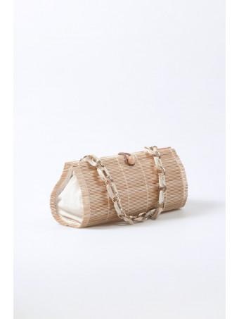 Дамска чанта CABANNI MYKONOS NATURAL BAG
