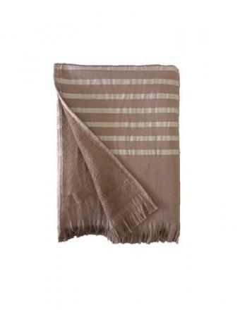 Плажна кърпа LE COMPTOIR DE LA PLAGE ALANYA ALANYA Taupe