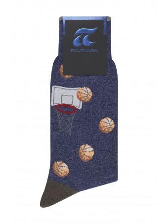Мъжки фешън чорапи President 3672 01 OS Socks