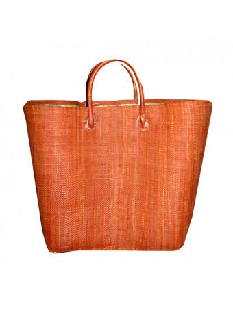 Плажна плетена чанта LE COMPTOIR DE LA PLAGE BELO CARAMEL PANIER