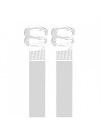 13002 CLEAR STRAPS D15MM