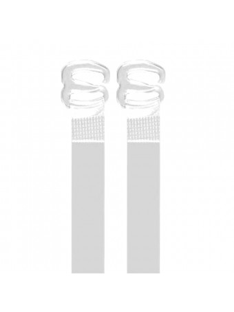 13001 CLEAR STRAPS 10MM