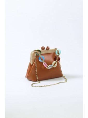 Дамска чанта CABANNI BARCELONA BROWN BAG