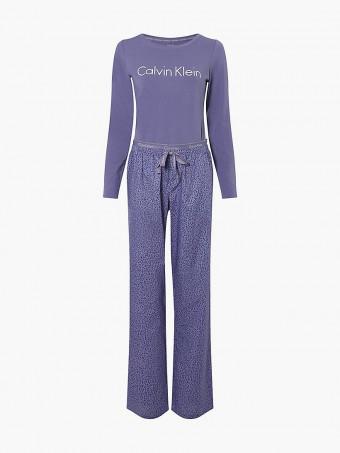 Дамска пижама сет Calvin Klein QS6350E W6L SET