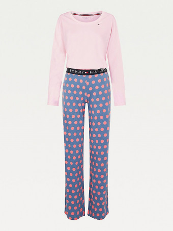 Сет дамска пижама Tommy Hilfiger UW0UW02566 0SS SET