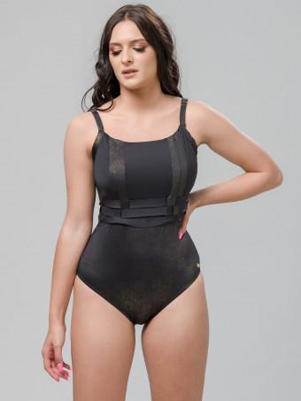 Дамски цял бански Luna 93570 BLACK swimsuit