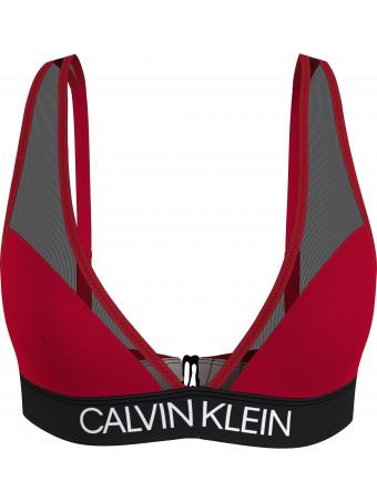 Дамски бански горна част Calvin Klein KW0KW01312 XMK TRIANG.