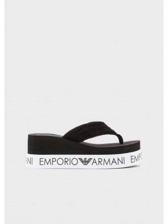 Дамски чехли Emporio Armani X3QS07 XM764 N611 Flip Flop