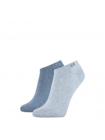 Дамски спортни чорапи Calvin Klein 1772004999 2 чифта в пакет bluecomb