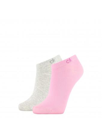Дамски спортни чорапи Calvin Klein 1772005999 2 чифта в пакет pinkgrey