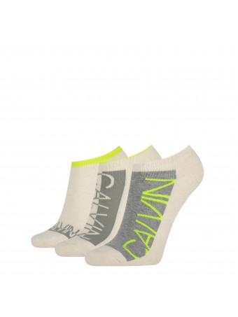 Дамски спортни чорапи Calvin Klein 3040003999 3 3 чифта в пакет OATMEAL