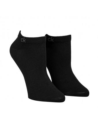 Дамски спортни чорапи Calvin Klein ECH634-00-2 чифта в пакет FLAT KNIT