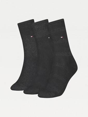 Дамски чорапи Tommy Hilfiger 701210532001 35/38 3бр.в пакет
