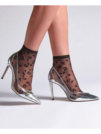 Дамски къси фешън чорапи Levante E797 8D NERO CALZINO