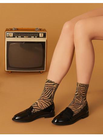Дамски къси фешън чорапи Pierre Mantoux WILL CALZINO ORO U