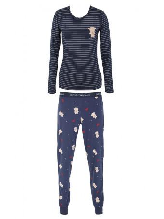 Дамска пижама сет Emporio Armani 164379 0A278