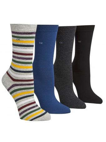 Дамски чорапи CALVIN KLEIN 4БР. В ОПАКОВКА