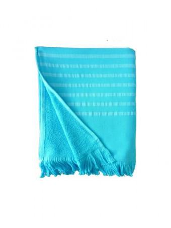 Плажна кърпа LE COMPTOIR DE LA PLAGEALANYA Turquoise