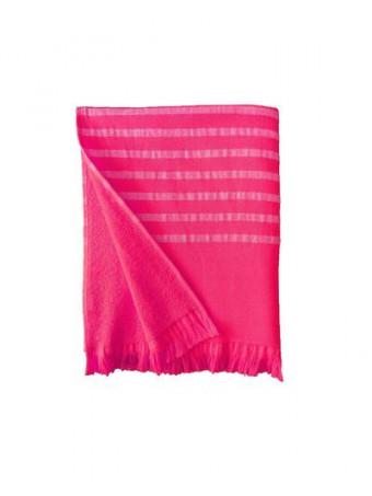 Плажна кърпа LE COMPTOIR DE LA PLAGE ALANYA Fuchsia