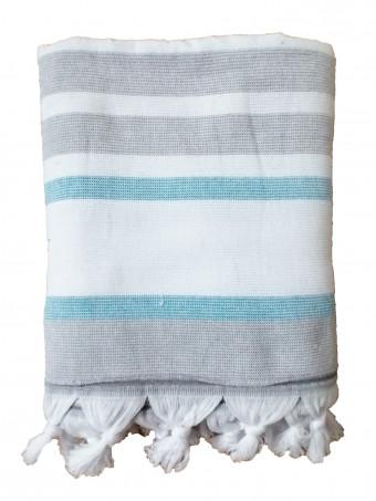 Плажна кърпа LE COMPTOIR DE LA PLAGE ZUMA Azur 90X160 TOWEL