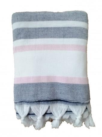 Плажна кърпа LE COMPTOIR DE LA PLAGE ZUMA Candy 90X160 TOWEL