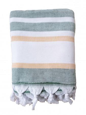 Плажна кърпа LE COMPTOIR DE LA PLAGE ZUMA Jade 90X160 TOWEL