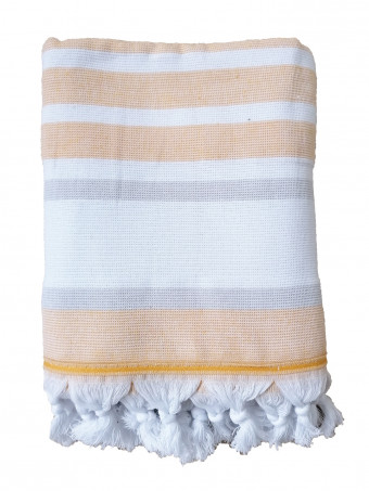 Плажна кърпа LE COMPTOIR DE LA PLAGE ZUMA Ocre 90X160 TOWEL