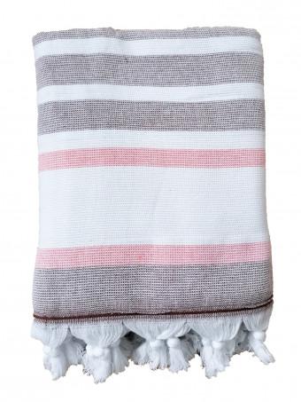 Плажна кърпа LE COMPTOIR DE LA PLAGE ZUMA Terracotta 90x160