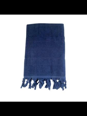 Плажна кърпа LE COMPTOIR DE LA PLAGE HAMMAM BLEU MARIN 90x160
