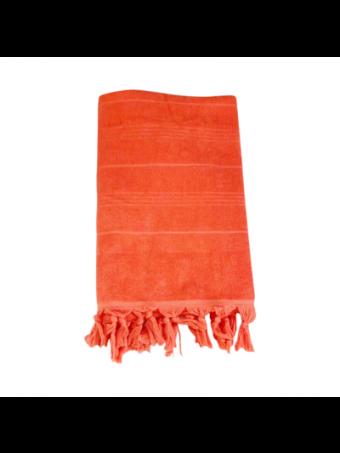 Плажна кърпа LE COMPTOIR DE LA PLAGE HAMMAM CORAL 90x160