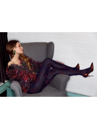 Дамски фигурален чорапогащник PIERRE MANTOUX