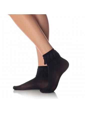 Дамски къси фигурални чорапи OMERO