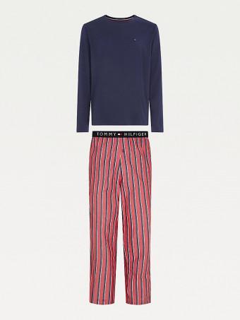 Мъжка пижама сет Tommy Hilfiger UM0UM01960 0Y0 LSPJSET