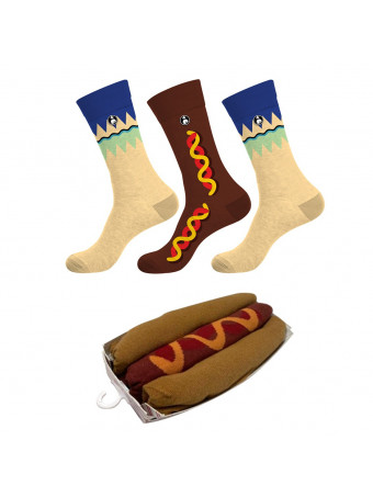 Мъжки чорапи GRAZY SOCKS 3бр.в опаковка