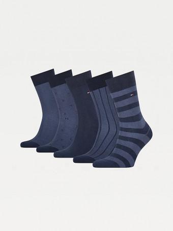 Комплект мъжки чорапи Tommy Hilfiger 701210549 5бр.