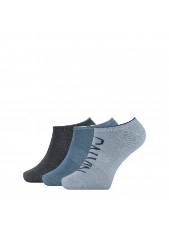 Мъжки чорапи Calvin Klein 3017004999 3 чифта в пакет JEANS