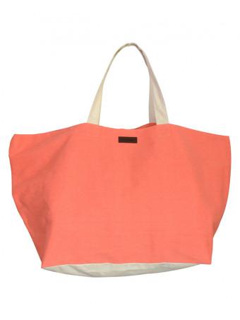 Плажна чанта Mora Mora BIG BAG CORAL POL.CANVAS