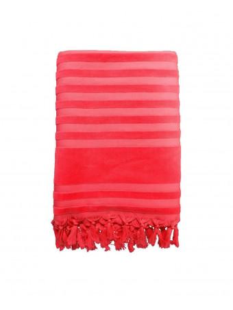 Плажна кърпа LE COMPTOIR DE LA PLAGE SCALA ROUGE 90x160 TOWEL
