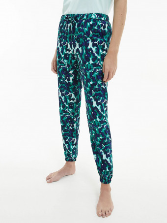 Дамска пижама дълъг панталон CALVIN KLEIN QS6027E IXC JOGGER