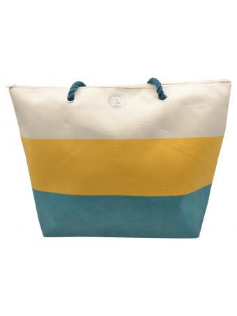 Плажна чанта Mora Mora OCEAN BAG BLUE POL.CANV