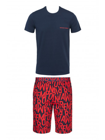 Сет мъжка пижама Emporio Armani 111893 1P506 75135