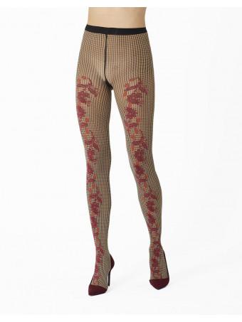 Дамски фигурален чорапогащник Pierre Mantoux ANNETTE COLL.BORDEAUX