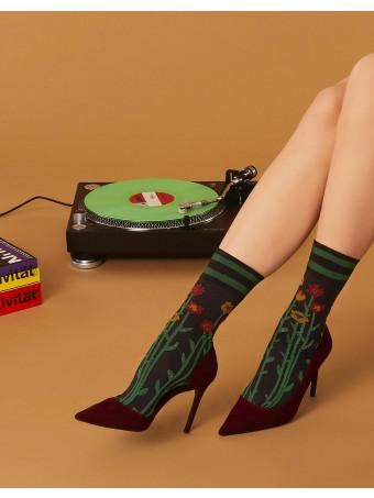 Дамски къси чорапи Pierre Mantoux JAY CALZINO NERO