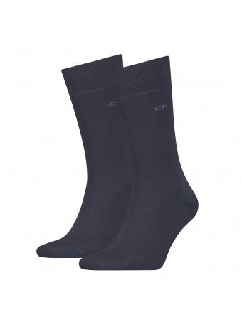 Мъжки чорапи Calvin Klein ECP275-navy 39/42
