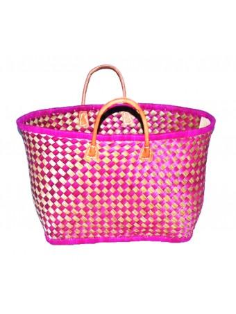 Плажна плетена чанта LE COMPTOIR DE LA PLAGE VOATOKANA GM